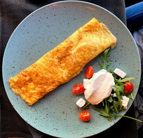 Omlet sa spanaćem Babalu