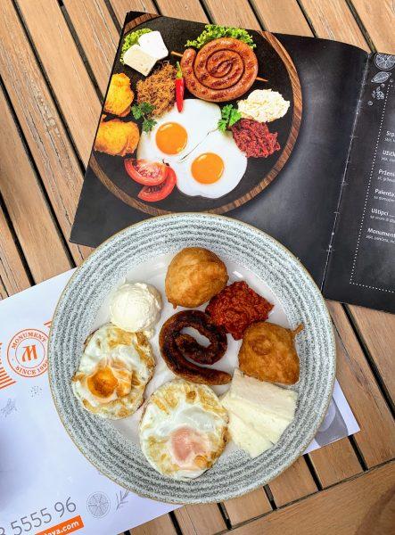 Da li su slični doručak na slici i ovaj koji smo dobili?