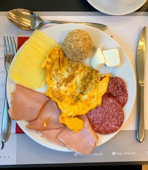 ... i druga kombinacija za doručak.