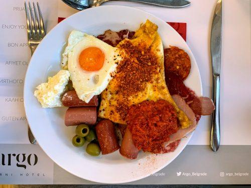 Jedna od kombinacija za doručak
